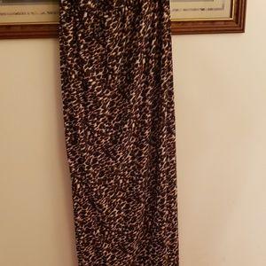 R&K Dresses - Cheetah Maxi